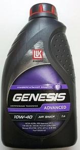 LUKOIL GENESIS ADVANCED 10w-40 API SN/CF 1Л