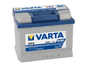 Varta Blue Dynamic 60 евро (560409)