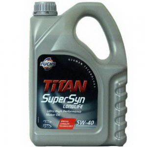 TITAN SUPERSYN 5W-40 4l